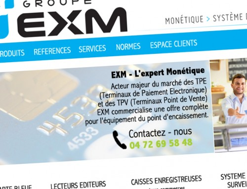 WEB DESIGN GROUPE EXM