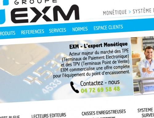 WEB DESIGN GROUPE EXM