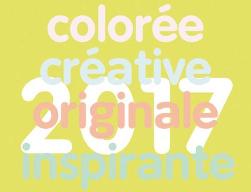CREATION GRAPHIQUE VOEUX 2017
