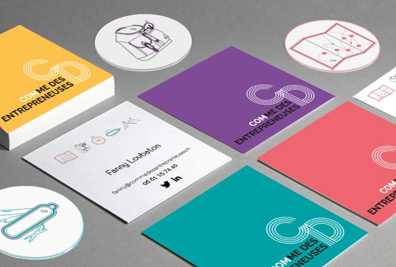 graphisme-logo-carte-de-visite-comme-des-entrepreneuses-by-camille