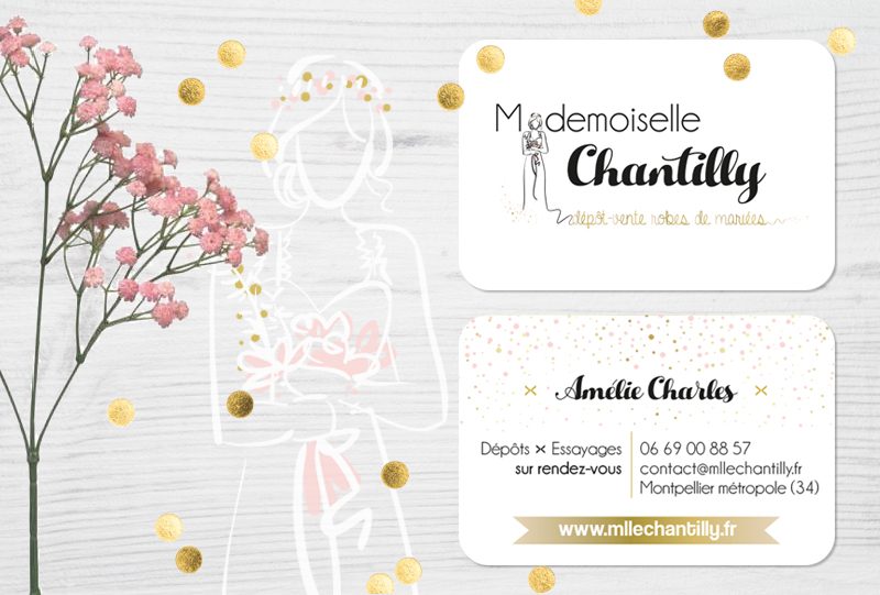graphisme-logo-carte-de-visite-mademoiselle-chantilly-bycamille